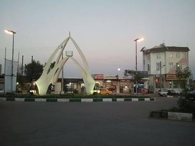 میدان ساعت دهگلان